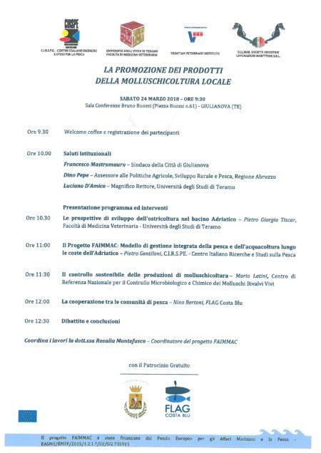 FAIMMAC Seminar Giulianova_sabato 24 marzo 2018