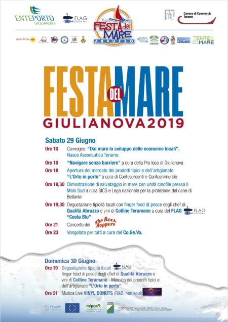 Festa del mare 29 e 30 gigno 2019 Giulianova