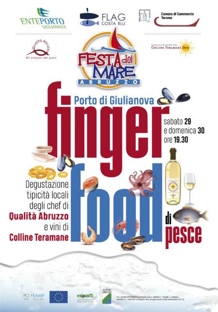 locandina finger food festa del mare 29 e 30 Giugno